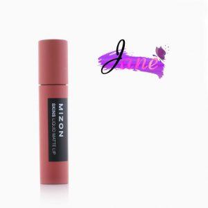 Son Mizon Skins Liquid Matte Lip nội địa