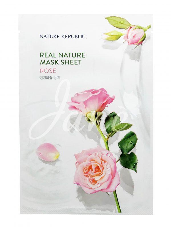 Mặt nạ Nature Republic Real Nature Mask Sheet Rose