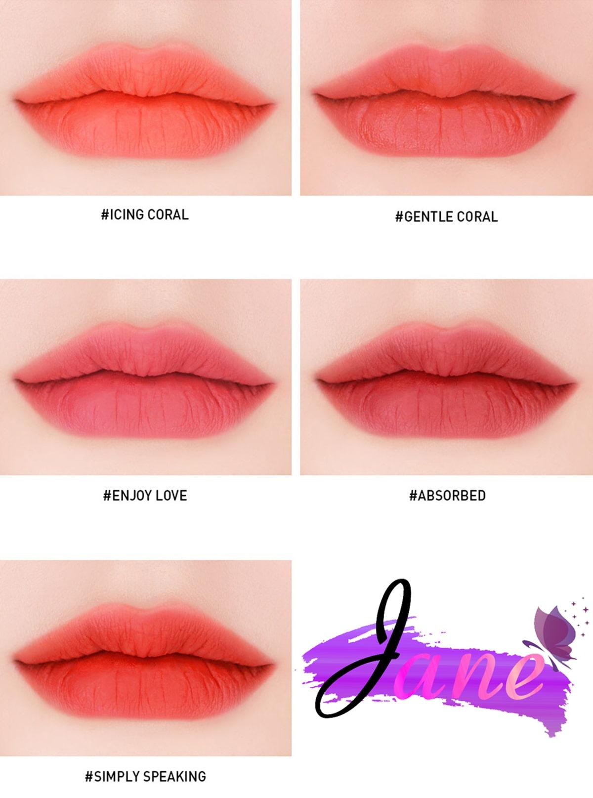 son 3CE Velvet Lip Tint 4 min