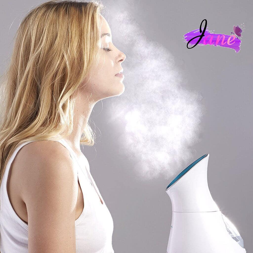 khắc phục da dị ứng mỹ phẩm bằng xông hơi