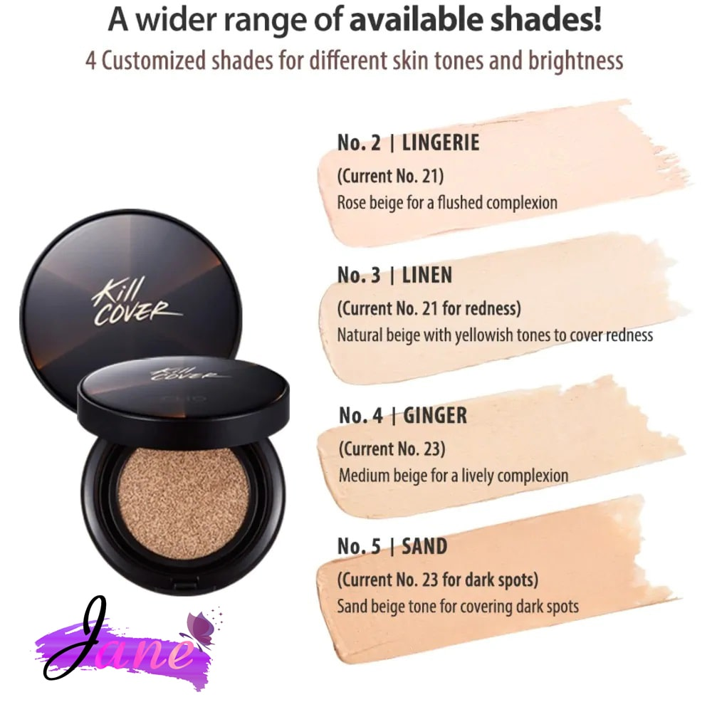 Phấn Nước Clio Kill Cover Conceal Cushion min