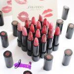 Bảng màu son Shiseido mới nhất