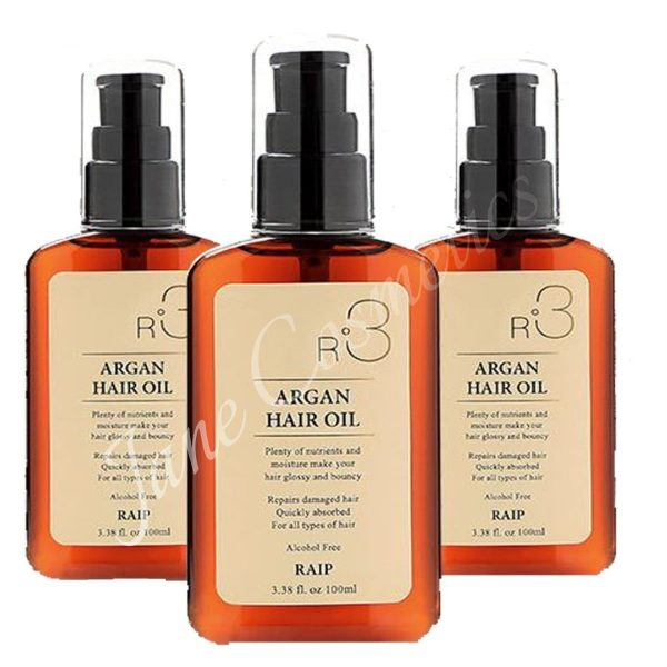 tinh dầu dưỡng tóc Raip R3 Argan Hair Oil