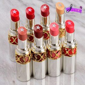 YSL Rouge Volpute Rockn Shine Lipstict