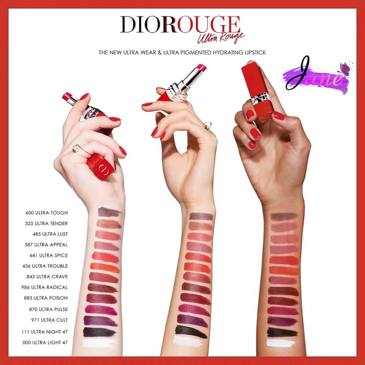 Son Dior kem Rouge Dior Ultra Care Liquid 2
